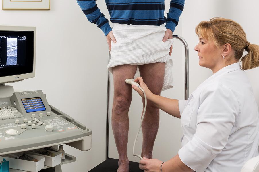 Traitement par injection guidée sous échographie (échosclérothérapie) chez MedVaris